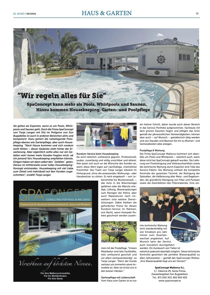 El Aviso 06-2021 Haus & Garten